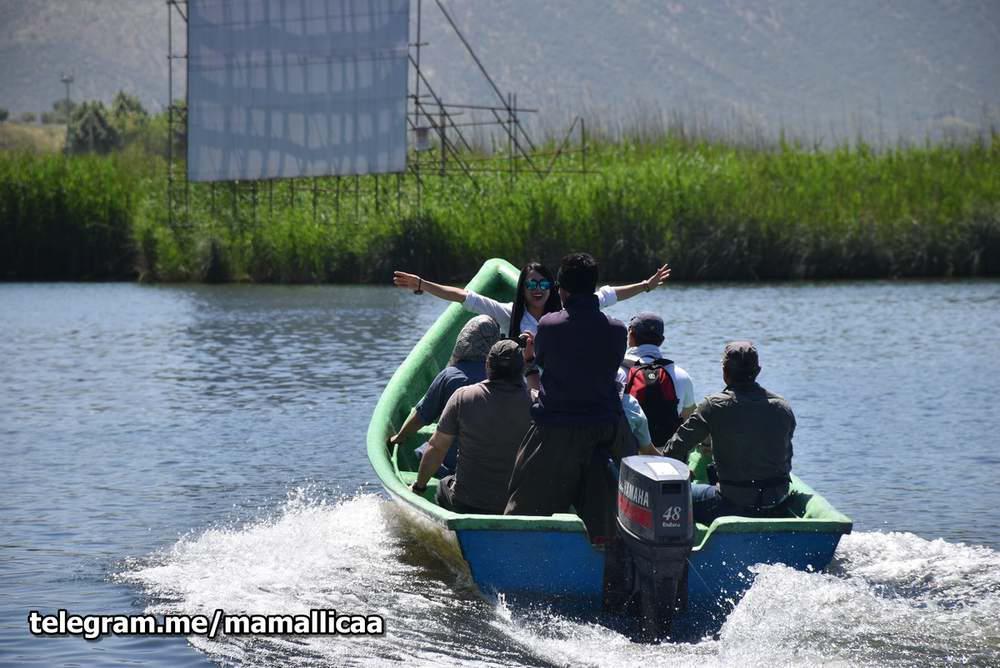 راننده قایق مریوان