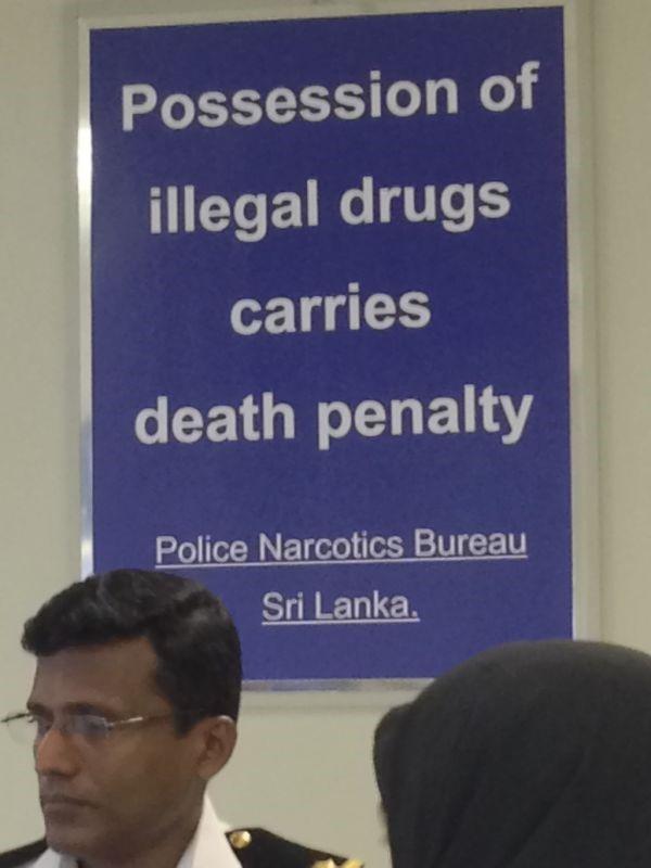 سفر- سریلانکا- دارو- پلیس مبارزه با مواد مخدر- مملیکا- سفرنامه