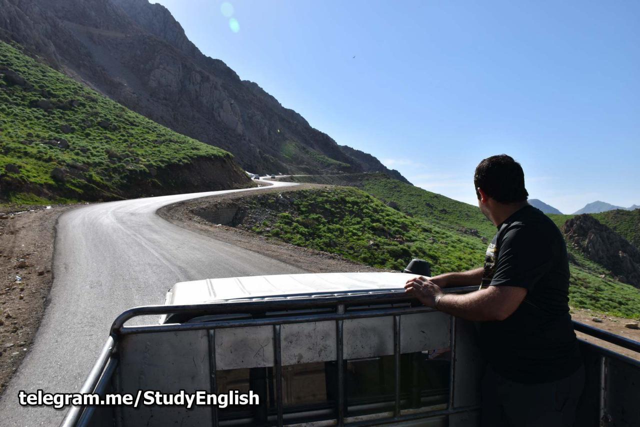 تویوتا سواری در کردستان